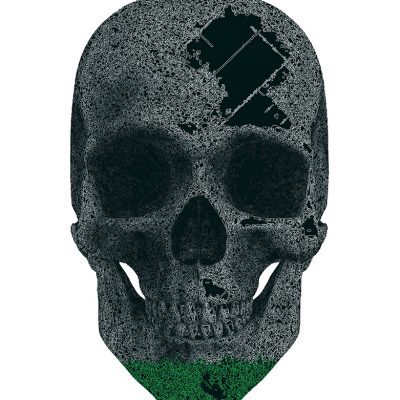 Green skull - fkmg - kub